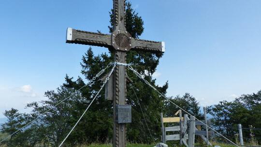 Gipfelkreuz Alpl in Opponitz, Oisberg