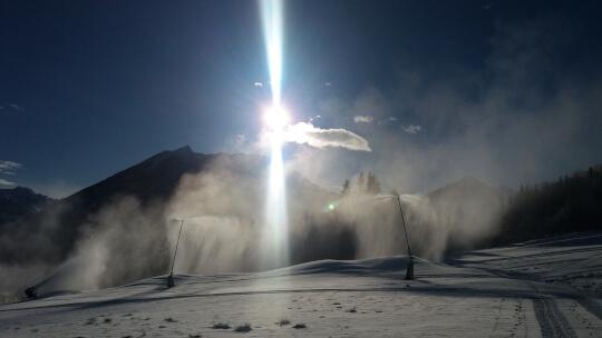 Schneekanonen in Schladming-Rohrmoos